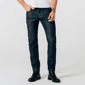 DSTLD Skinny-Slim Jeans in Dark Wash Resin - Timber Stitch