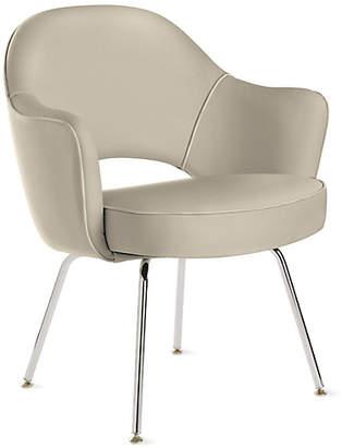 Design Within Reach Knoll Saarinen Executive Armchair with Metal Legs, Tan at DWR