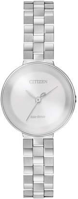 Citizen 25mm Slim Eco-Drive Bracelet Watch
