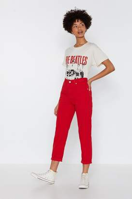 Nasty Gal Stacey's Mom High-Waisted Jeans