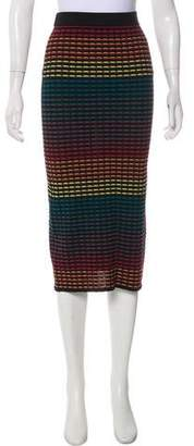 House Of Harlow Knit Midi Skirt w/ Tags