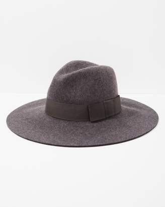 7 For All Mankind Brixton Piper Hat in Heather Grey