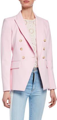 Veronica Beard Lonny Double-Breasted Dickey Jacket
