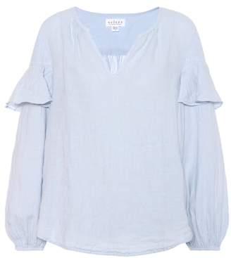 Velvet Tyra linen blouse