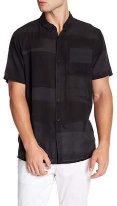 Neuw Bon Short Sleeve Print Modern Fit Shirt