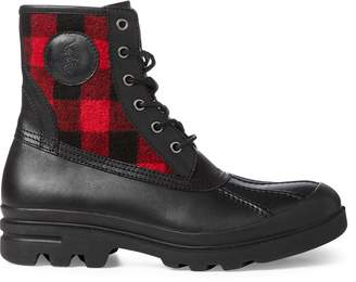 Ralph Lauren Udel Buffalo Check Duck Boot