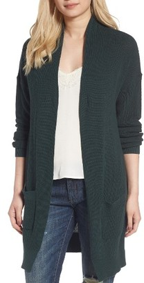 Women's Bp. Lightweight Rib Stitch Cardigan $49 thestylecure.com