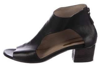 Marsèll Leather Cutout Sandals
