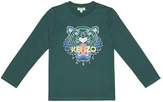 Kenzo Logo cotton-jersey top