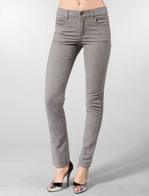 Cheap Monday Tight Jean in Green Grey Slub
