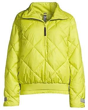 adidas by Stella McCartney Women's Neon Padded Puffer Jacket