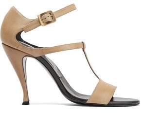 Roger Vivier Cutout Leather Sandals