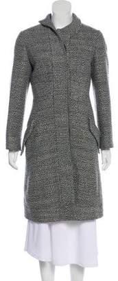 Alexander McQueen Wool-Blend Knee-Length Coat