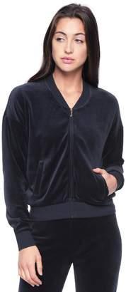 Juicy Couture Royal Emblem Velour Westwood Jacket