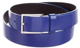 Christian Dior Leather Buckle Belt