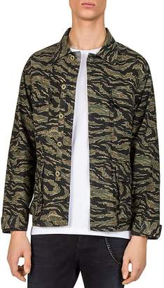 The Kooples Camo Shirt Jacket