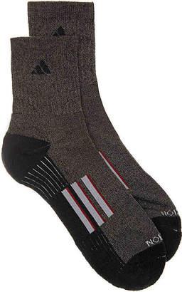 adidas Cushioned Stripe Crew Socks - 2 Pack - Men's