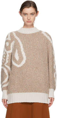 See by Chloe Ivory Long Bouclette Sweater