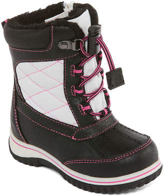 totes Girls Kim Winter Boots Water Resistant Strap