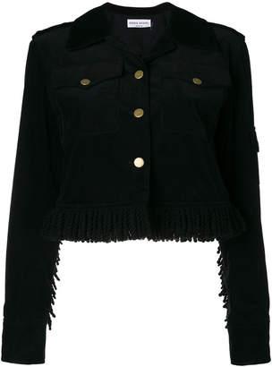 Sonia Rykiel short velvet jacket