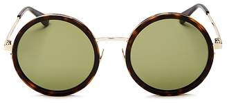 Saint Laurent Women's Oversized Round Sunglasses, 52mm