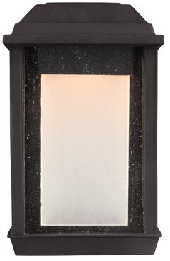 Brayden Studio Schill LED Outdoor Wall Lantern Brayden Studio
