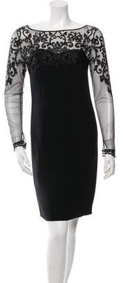 La Perla Embroidered Bodycon Dress w/ Tags $275 thestylecure.com