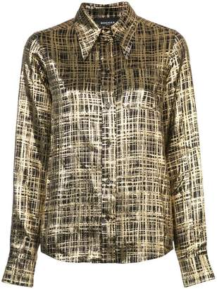 Rochas checked shirt