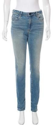 Alexander Wang Mid-Rise Skinny Jeans