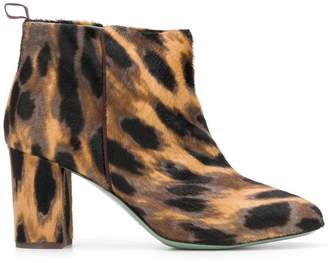 Paola D'arcano animal printed boots