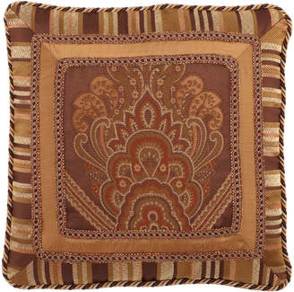 "Carlisle Austin Horn Classics Triple-Frame Pillow with Gimp & Cording, 21""Sq."