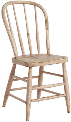 Rejuvenation Well-Worn Windsor Chair w/ Cream-Painted Finish