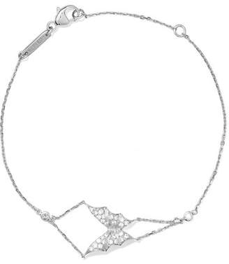 Stephen Webster Fly By Night 18-karat White Gold Diamond Bracelet