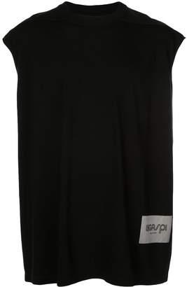 Rick Owens oversized sleeveless T-shirt