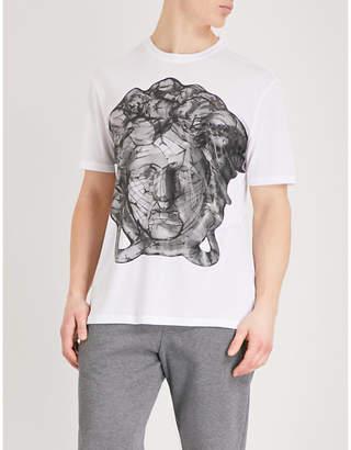 Versace Medusa jersey T-shirt