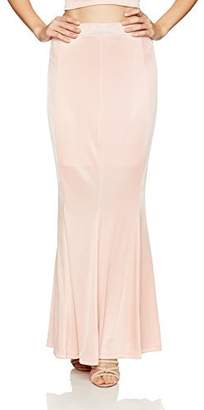 Velvet Rope Women's Satin Knit Mermaid Maxi Skirt Extra Small