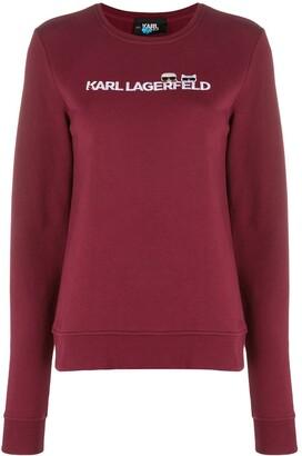 Karl Lagerfeld Paris Ikonik logo sweatshirt