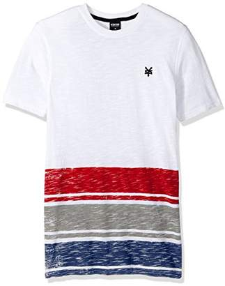 Zoo York Men's Short Sleeve Gradual V Neck Knit Shirt