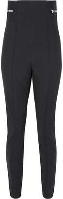 Alexander Wang Cotton-blend Jacquard Skinny Leggings - Black
