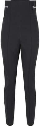 Alexander Wang Cotton-blend Jacquard Skinny Leggings - Black