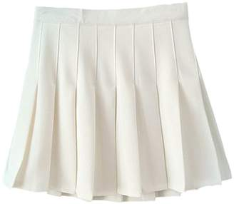 A+ro Aro Lora Women's Stylish Slim High Waist Pleated Tennis Mini Skirts US 6