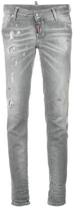 DSQUARED2 distressed Jennifer jeans