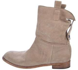 Alberto Fermani Suede Slouch Boots