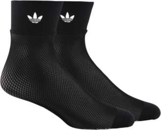 adidas Fishnet Ankle Socks - Women's