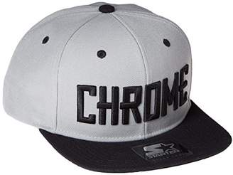 Chrome (クローム) - [クローム] ポーチ TWILL SB CAP TYPE1 STARTER社製 JP013GYBK GYBK GRAY/BLACK