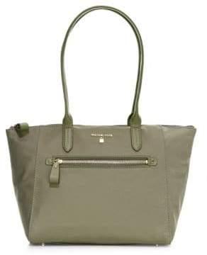 Michael Kors Women's Medium Top Zip Tote Bag - Olive