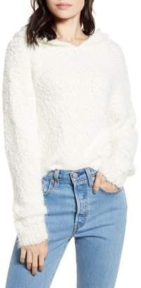 LIRA Posey Textured Hooded Sweater