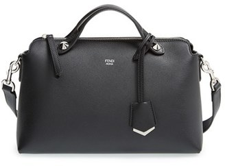 Fendi 'Medium By The Way' Convertible Leather Shoulder Bag - Black $1,650 thestylecure.com
