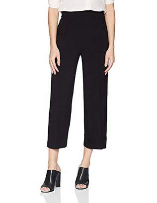 Nine West Women's Cropped Wide Leg CRPE Pant