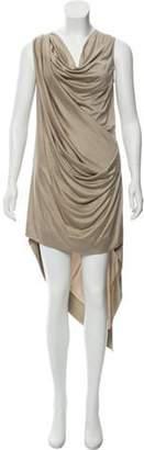 Michael Kors Silk Midi Dress Tan Silk Midi Dress